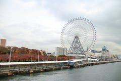Ρόδα της Ιαπωνίας Οζάκα Tempozan Ferris Στοκ Εικόνες