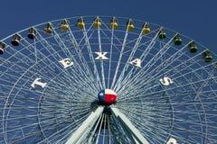 Ρόδα του Τέξας Ferris Στοκ εικόνα με δικαίωμα ελεύθερης χρήσης