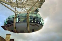 Ρόδα χιλιετίας (μάτι του Λονδίνου), Λονδίνο, UK Στοκ εικόνα με δικαίωμα ελεύθερης χρήσης