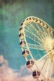 Ρόδα Ferris αναδρομική Στοκ Εικόνες