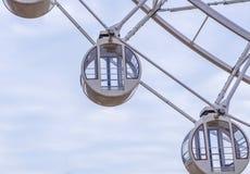 ρόδα ferris για το φυσικό γύρο στο λούνα παρκ Στοκ Εικόνα