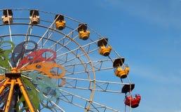 Ρόδα Ferris γύρου λούνα παρκ Στοκ εικόνες με δικαίωμα ελεύθερης χρήσης