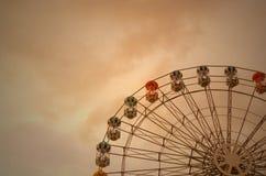 Ρόδα Ferris επεξεργασμένη Στοκ Φωτογραφίες