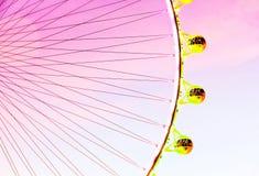 Ρόδα Ferris πέρα από τον ουρανό Στοκ Φωτογραφία