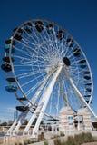 Ρόδα Ferris πολυασχόλων στη Πόλη της Οκλαχόμα, ΕΝΤΆΞΕΙ Στοκ εικόνα με δικαίωμα ελεύθερης χρήσης
