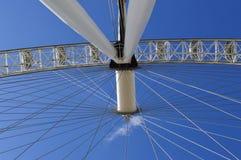 Ρόδα Ferris στο Λονδίνο στοκ φωτογραφία
