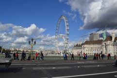 Ρόδα Ferris στο Λονδίνο στοκ εικόνες