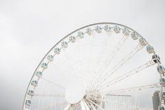 Ρόδα Ferris στο Χονγκ Κονγκ Στοκ Φωτογραφία