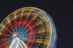 Ρόδα Ferris τη νύχτα Στοκ εικόνες με δικαίωμα ελεύθερης χρήσης