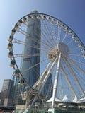 Ρόδα Ferris, Χονγκ Κονγκ Στοκ εικόνες με δικαίωμα ελεύθερης χρήσης