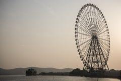 Ρόδα Ferris, Wuxi Κίνα Στοκ Εικόνες