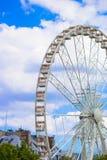 Ρόδα Roue de Παρίσι Ferris στο Λα θέσεων de Στοκ εικόνα με δικαίωμα ελεύθερης χρήσης