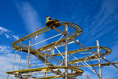 Ρόλερ κόστερ λούνα παρκ Στοκ φωτογραφίες με δικαίωμα ελεύθερης χρήσης