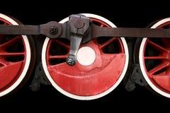 Ρόδες κινητήριων μηχανών ατμού Στοκ φωτογραφία με δικαίωμα ελεύθερης χρήσης