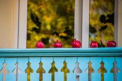 Ρόδια σε ένα μπαλκόνι Στοκ Φωτογραφία