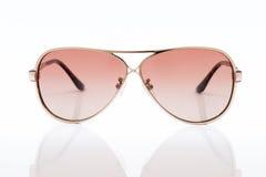 ρόδινα γυαλιά ηλίου Στοκ φωτογραφία με δικαίωμα ελεύθερης χρήσης