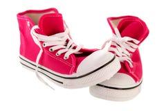 Παπούτσια καλαθοσφαίρισης Στοκ Εικόνες