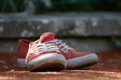 ρόδινα παπούτσια Στοκ φωτογραφία με δικαίωμα ελεύθερης χρήσης