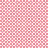 Ρόδινα σημεία Πόλκα Στοκ εικόνες με δικαίωμα ελεύθερης χρήσης