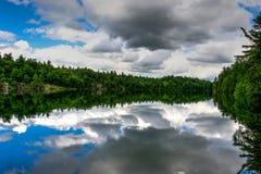 Ρόδινη λίμνη Gatineau Στοκ Φωτογραφίες