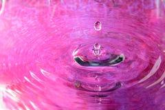 Ρόδινη αντανάκλαση νερού Στοκ Εικόνα