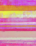 Ρόδινη και πορτοκαλιά αφηρημένη ζωγραφική τέχνης στοκ φωτογραφία με δικαίωμα ελεύθερης χρήσης