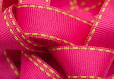 ρόδινη κορδέλλα Στοκ φωτογραφίες με δικαίωμα ελεύθερης χρήσης