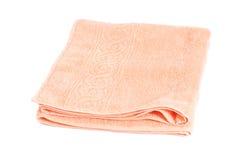 ρόδινη πετσέτα Στοκ Εικόνα
