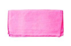 ρόδινη πετσέτα Στοκ Φωτογραφία