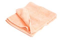 ρόδινη πετσέτα Στοκ Εικόνες