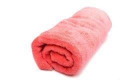 ρόδινη πετσέτα Στοκ φωτογραφία με δικαίωμα ελεύθερης χρήσης
