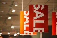 ρόδινη πώληση κίτρινη Στοκ φωτογραφία με δικαίωμα ελεύθερης χρήσης