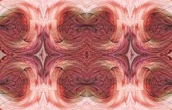 Ρόδινη συμμετρική αφαίρεση Στοκ φωτογραφία με δικαίωμα ελεύθερης χρήσης