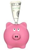 Ρόδινη piggy τράπεζα Στοκ εικόνα με δικαίωμα ελεύθερης χρήσης