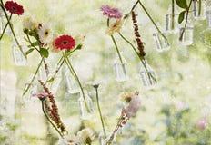 Ρόδινος αυξήθηκε ανθοδέσμη λουλουδιών Στοκ Εικόνες