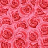 Ρόδινος αυξήθηκε floral υπόβαθρο Στοκ φωτογραφία με δικαίωμα ελεύθερης χρήσης