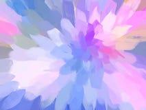 ρόδινος μαλακός λουλουδιών αφηρημένη απεικόνιση Στοκ εικόνες με δικαίωμα ελεύθερης χρήσης