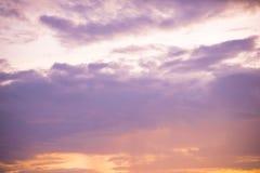 ρόδινος ουρανός Στοκ φωτογραφίες με δικαίωμα ελεύθερης χρήσης