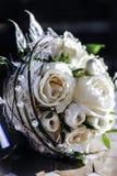 ρόδινος ρομαντικός γάμος λουλουδιών κομψότητας διακοσμήσεων ανασκόπησης Στοκ φωτογραφία με δικαίωμα ελεύθερης χρήσης