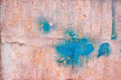 Ρόδινος συμπαγής τοίχος, υπόβαθρο ασβεστοκονιάματος σύστασης επιφάνειας για το desig Στοκ Φωτογραφία