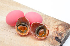 Ρόδινο αυγό Στοκ φωτογραφίες με δικαίωμα ελεύθερης χρήσης