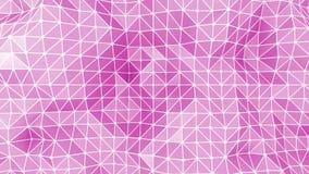 Ρόδινο αφηρημένο υπόβαθρο τριγώνων απεικόνιση αποθεμάτων