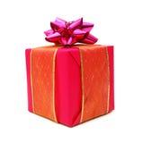 Ρόδινο κιβώτιο δώρων Στοκ Εικόνα