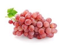 ρόδινο κρασί σταφυλιών Στοκ Εικόνα