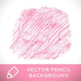 Ρόδινο σχέδιο υποβάθρου σκίτσων μολυβιών. Στοκ εικόνα με δικαίωμα ελεύθερης χρήσης