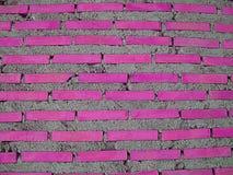 Ρόδινο τούβλο Στοκ φωτογραφίες με δικαίωμα ελεύθερης χρήσης