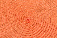 Ρόδινο υπόβαθρο με τις σπείρες συνδεδεμένο διάνυσμα βαλεντίνων απεικόνισης s δύο καρδιών ημέρας Στοκ Εικόνα