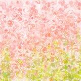 Ρόδινο υπόβαθρο 07 watercolor διανυσματική απεικόνιση