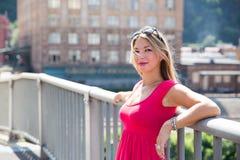 Ρόδινο φόρεμα 2 στοκ εικόνα