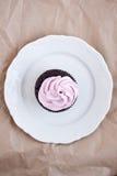 Ρόδινο cupcake Στοκ φωτογραφία με δικαίωμα ελεύθερης χρήσης